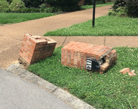 chattanooga brick mailboxes